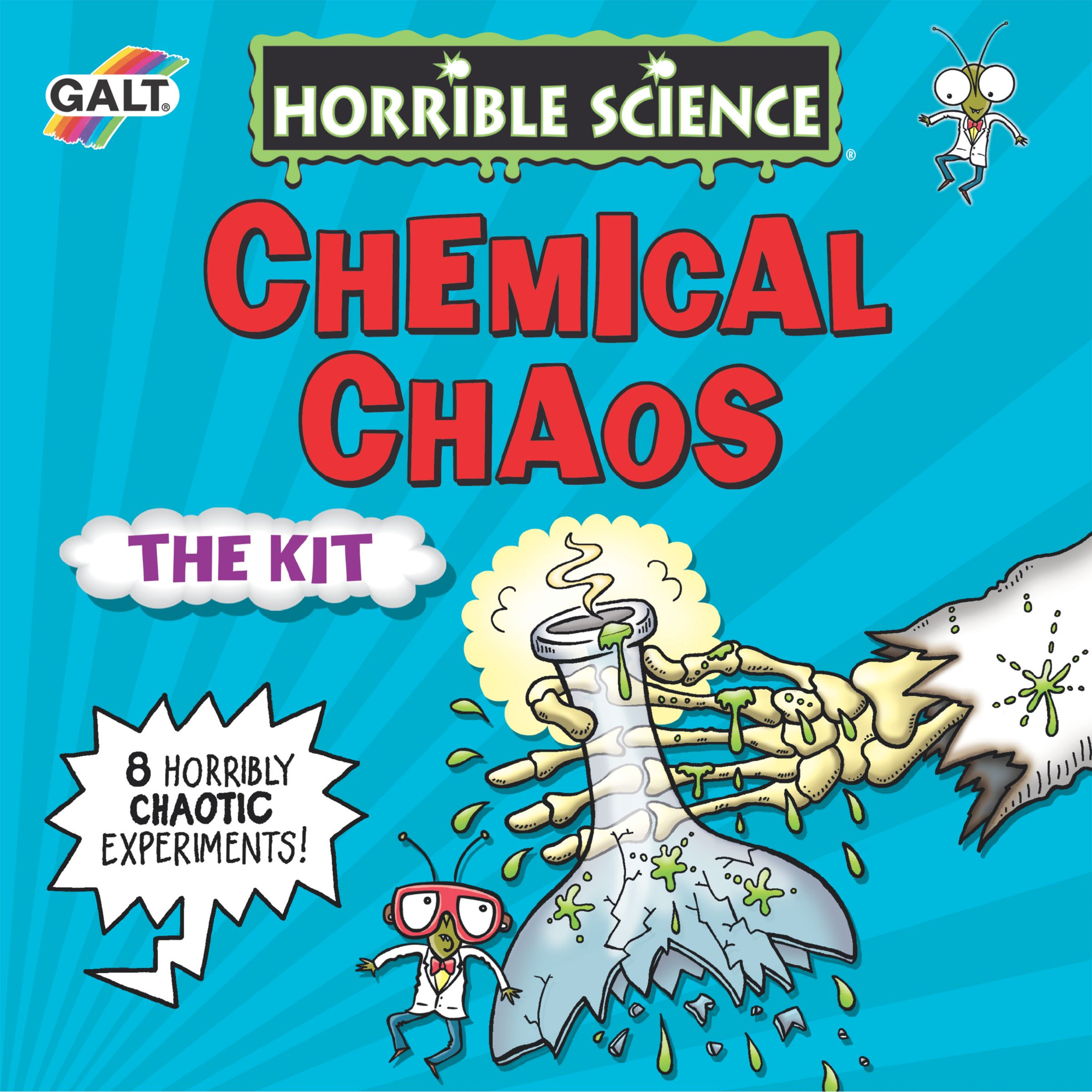 Horrible Science Horrible Science Chemical Chaos Kit