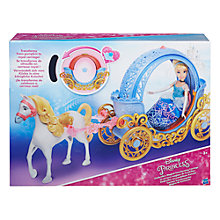 Buy Disney Princess Cinderella's Magical Transforming Carriage Online at johnlewis.com