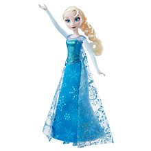 Buy Disney Frozen Elsa Musical Lights Doll Online at johnlewis.com