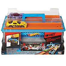 Buy Hot Wheels Race Case Track Set Online at johnlewis.com