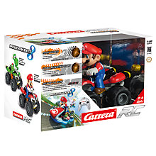 Buy Carrera Remote Control Nintendo Mario Kart 8 Vehicle Online at johnlewis.com
