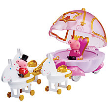 Buy Peppa Pig Princess Carriage Online at johnlewis.com