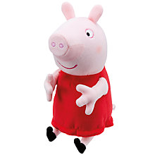 Buy Peppa Pig Laugh With Peppa Plush Doll Online at johnlewis.com