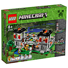 Buy LEGO Minecraft The Fortress Online at johnlewis.com