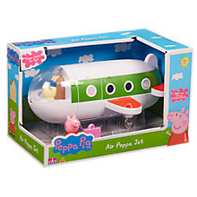 Buy Peppa Pig Air Peppa Jet Online at johnlewis.com