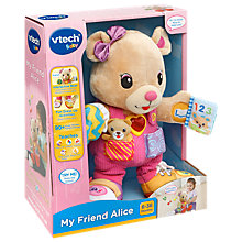 Buy VTech Baby My Friend Alice Furry Toy Online at johnlewis.com