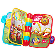 Buy VTech Teletubbies Time To Rhyme Interactive Book Online at johnlewis.com
