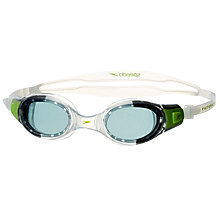 Buy Speedo Junior Futura Biofuse Goggles, Green/Clear Online at johnlewis.com