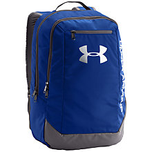 Buy Under Armour Hustle LDWR Backpack, Blue Online at johnlewis.com