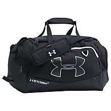 Buy Under Armour Storm Undeniable II Small Duffel Bag, Black Online at johnlewis.com