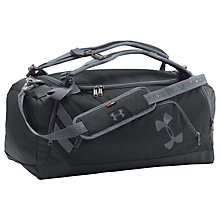 Buy Under Armour Storm Undeniable Medium Backpack Duffel Bag, Black Online at johnlewis.com