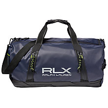 Buy Polo Golf by Ralph Lauren RLX Water Resistant Duffel Bag, Navy Online at johnlewis.com