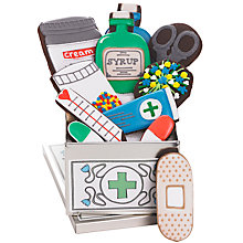 Buy Biscuiteers 'First Aid' Tin Of Chocolate Biscuits, 175g Online at johnlewis.com
