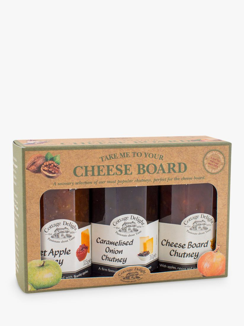 Cottage Delight Cottage Delight 'Take Me To The Cheeseboard' Chutneys, Set of 3