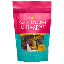 Buy Happy Jackson 'Sweet Enough Already' Gummy Sours, 180g Online at johnlewis.com