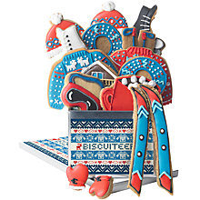 Buy Biscuiteers 'Apres Ski' Tin Of Vanilla Biscuits, 175g Online at johnlewis.com