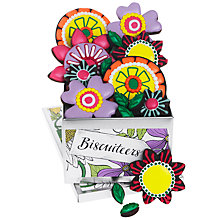 Buy Biscuiteers 'Flower Power' Tin Of Chocolate Biscuits, 175g Online at johnlewis.com