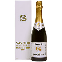 Buy Savour Sparkling Beer Brut, 75cl Online at johnlewis.com