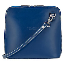 Buy East Vera Pelle Across Body Bag, Cobalt Online at johnlewis.com
