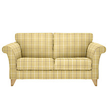Buy John Lewis Charlotte 2 Seater Sofa, Light Leg, William Check Apple Online at johnlewis.com