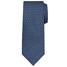 Buy Daniel Hechter 3D Cube Woven Silk Tie Online at johnlewis.com