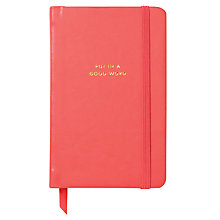 Buy kate spade new york Medium Notebook, Pink Online at johnlewis.com