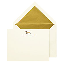 Buy kate spade new york Dachund Dog Correspondence Cards, Pack of 10 Online at johnlewis.com