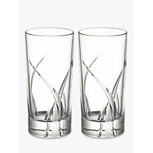 Buy John Lewis Grosseto Hiball, Set of 2, Clear Online at johnlewis.com