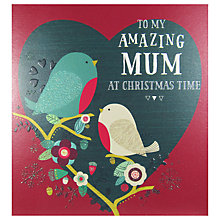 Buy Art File To My Amazing Mum Christmas Card Online at johnlewis.com