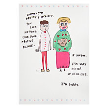 Buy Card Mix Profile Picture Greeting Card Online at johnlewis.com