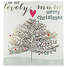 Buy Caroline Gardner Lovely Mum Christmas Tree Card Online at johnlewis.com