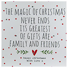 Buy Hammond Gower The Magic Of Christmas Card Online at johnlewis.com