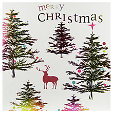 Buy Caroline Gardner Ombre Tree Forest Christmas Card Online at johnlewis.com