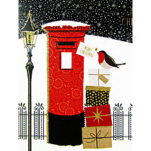 Buy Portfolio Christmas Postbox Card Online at johnlewis.com