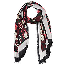 Buy French Connection Garden Scarf, Bloomsbury Online at johnlewis.com