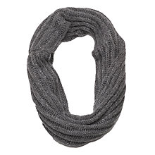 Buy French Connection Chunky Talia Snood, Mid Grey Marl Online at johnlewis.com