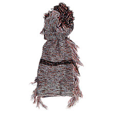 Buy French Connection Floral Fringe Scarf, Berry Mix Online at johnlewis.com