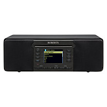 Buy Roberts Stream 65i DAB+/FM CD Smart Multi-Room Radio With Wi-Fi, Bluetooth & Internet Radio Online at johnlewis.com