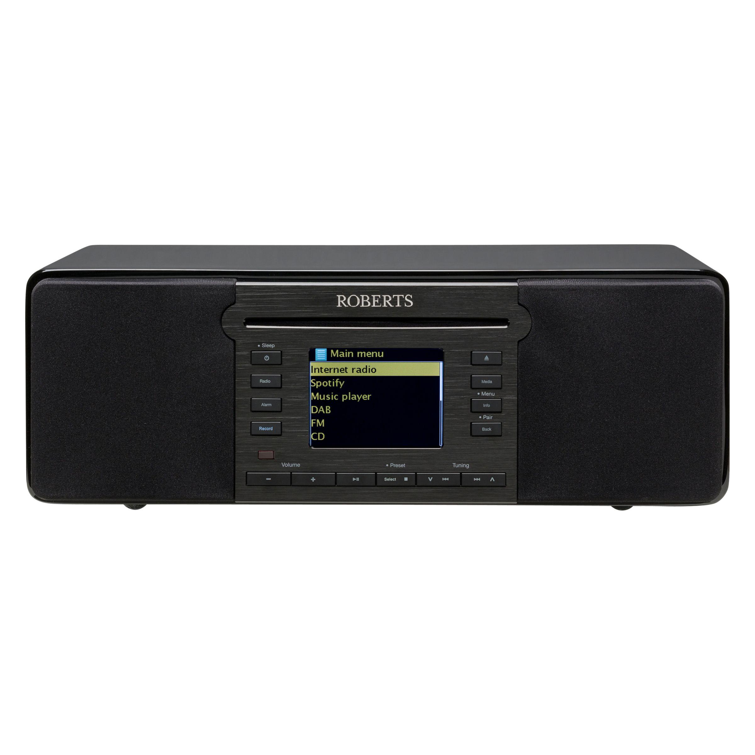 Roberts ROBERTS Stream 65i DAB+/FM CD Smart Multi-Room Radio With Wi-Fi, Bluetooth & Internet Radio