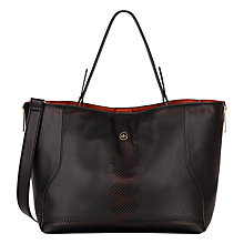 Buy Nica Heidi Shopper Bag, Black Online at johnlewis.com