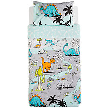 Buy Kas Land Of Giants Duvet Set, Single Online at johnlewis.com