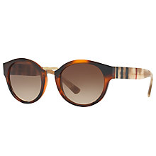 Buy Burberry BE4227 Oval Sunglasses Online at johnlewis.com