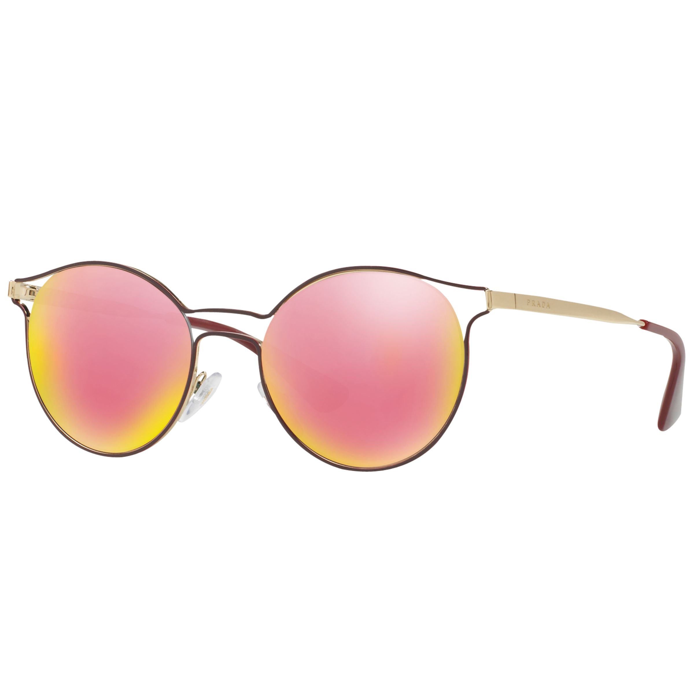 Prada Linea Rossa Prada Luna Rossa PR 62SS Oval Sunglasses