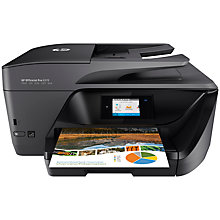 "Buy HP OfficeJet Pro 6970 All-In-One Wireless Printer with 2.65"" Touch Screen, HP Instant Ink Ready Online at johnlewis.com"