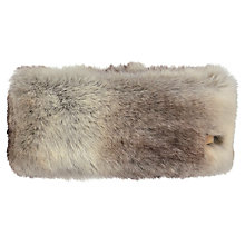 Buy Barts Faux Fur Headband, One Size, Brown Online at johnlewis.com