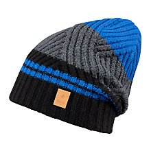 Buy Barts Wells Beanie, One Size, Black/Multi Online at johnlewis.com