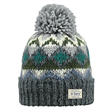 Buy Barts Torget Beanie, One Size, Charcoal Online at johnlewis.com