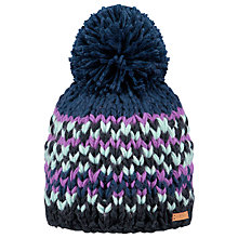 Buy Barts Jubba Beanie, One Size, Charcoal/Multi Online at johnlewis.com
