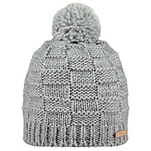 Buy Barts Celoccia Beanie, One Size, Grey Heather Online at johnlewis.com