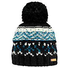 Buy Barts Sakar Beanie, One Size, Charcoal Online at johnlewis.com